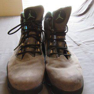 Mens Air Jordan Winterized 6 Rings Boots Gray 13